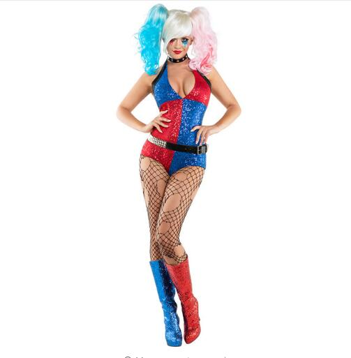 Sexy Harley Quinn Cosplay Costume 1