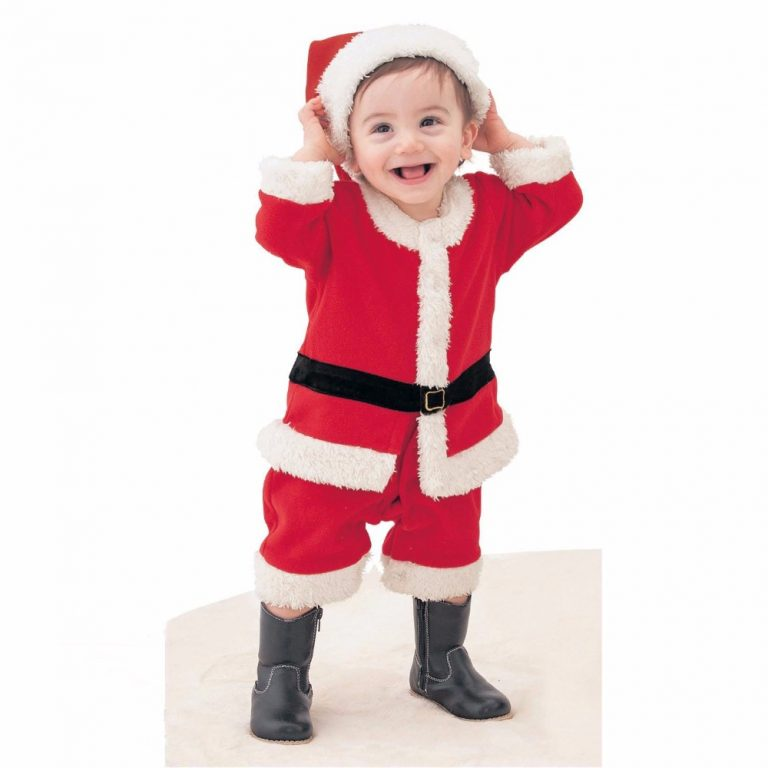 2017 Children Christmas Costume Set  for 12M-3T Toddler Baby 4