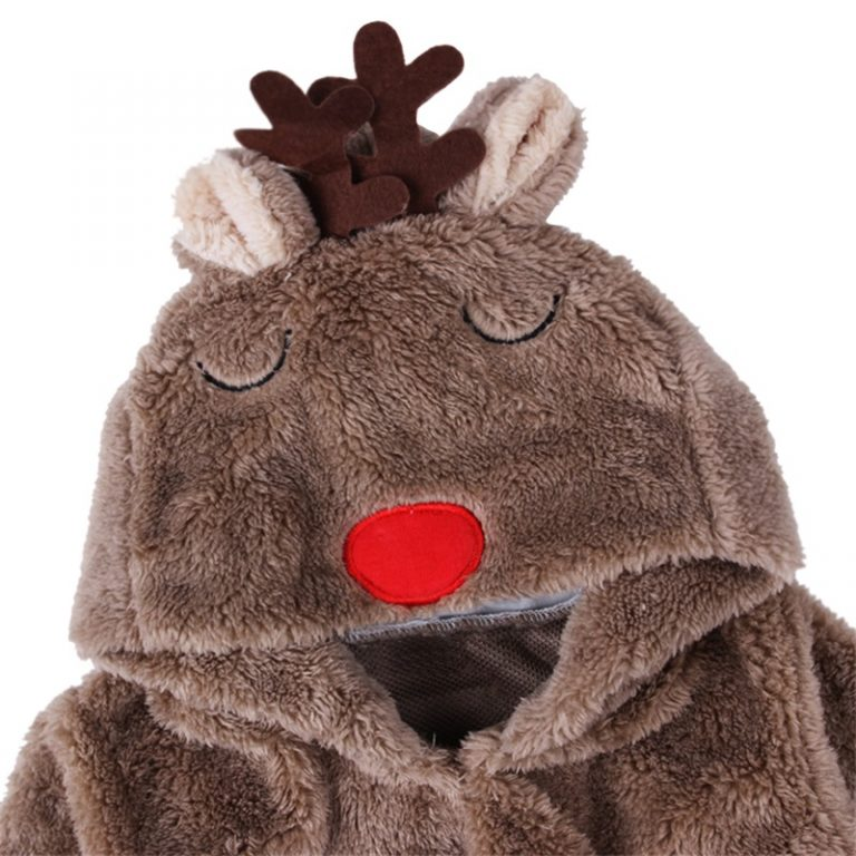 2017 Christmas Cute Cotton Reindeer Costume for Toddler 4