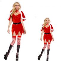 Santa Claus Costumes for Women/Men 13