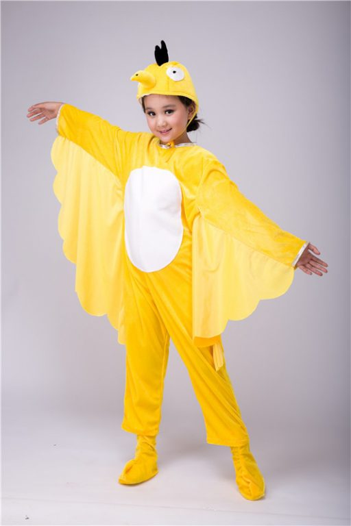 Bird Butterfly Children Costume(Multicolor) 4