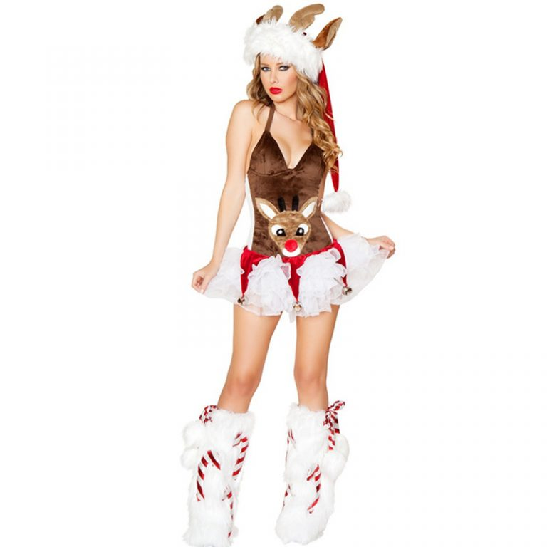 New Reindeer Sexy Costumes for women 2