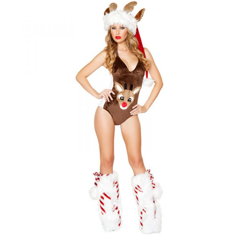 New Reindeer Sexy Costumes for women 3
