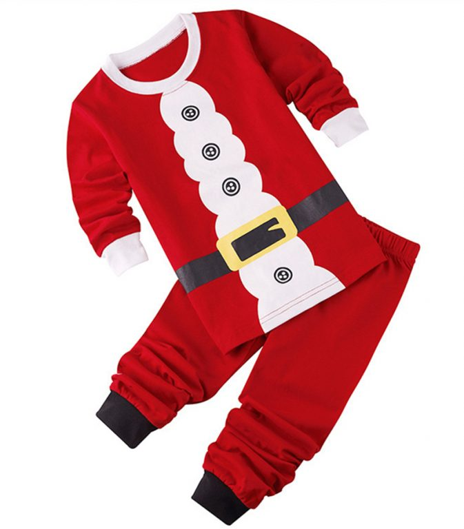 2017 New Baby Christmas Costume for kids 1