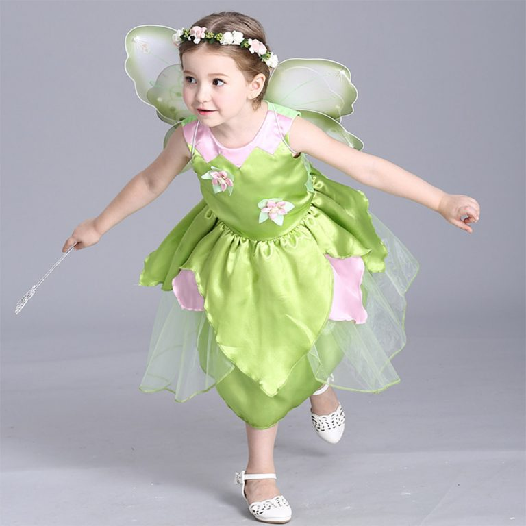 Tinkerbell Butterfly Costume 3