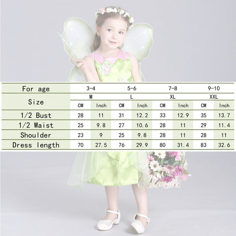 Tinkerbell Butterfly Costume 6
