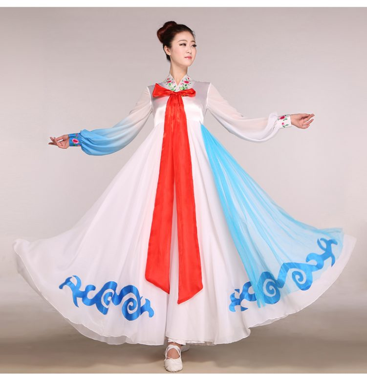 Hanbok Korean Embroidery Costume 9
