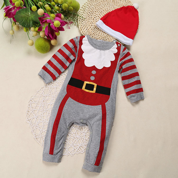 2018 Christmas costume for Baby Boys and Girls 3