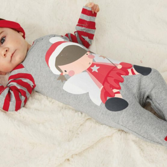 2018 Christmas costume for Baby Boys and Girls 11