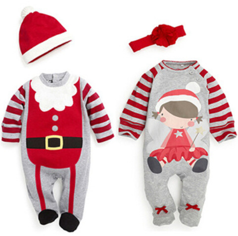 2018 Christmas costume for Baby Boys and Girls 1