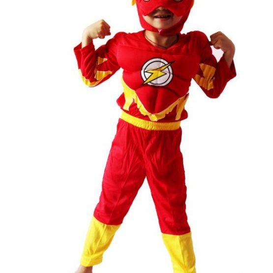 Flash Costume for kids 6
