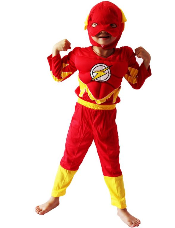 Flash Costume for kids 3