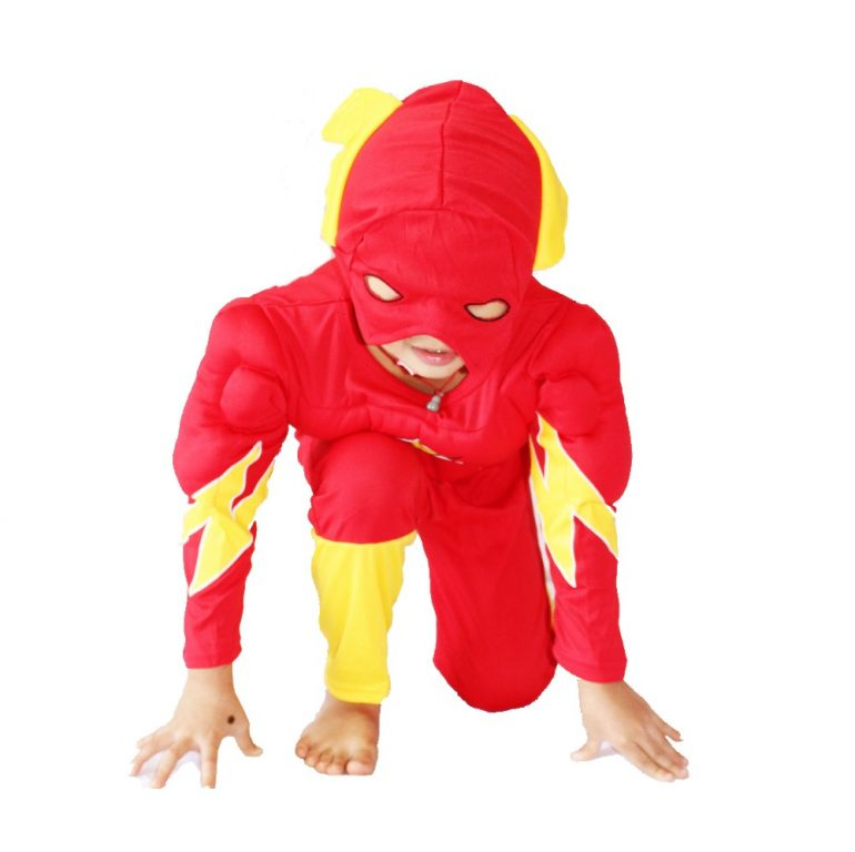 Flash Costume for kids 4