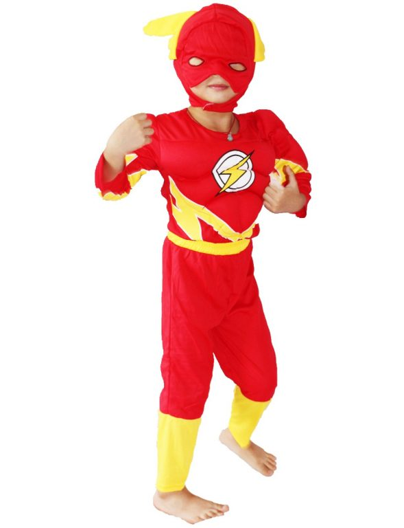 Flash Costume for kids 12