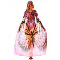 Butterfly Flower Fairy Cosplay Costumes for Girls 9