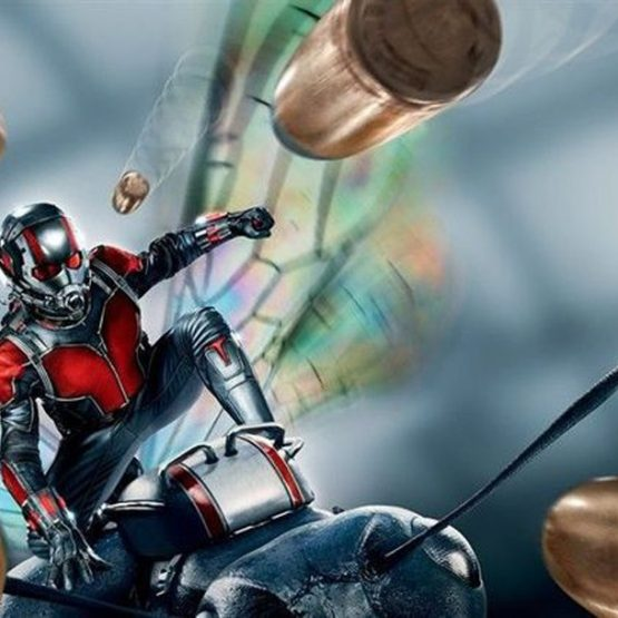 Ant Man Muscle Jumpsuits and Mask 5
