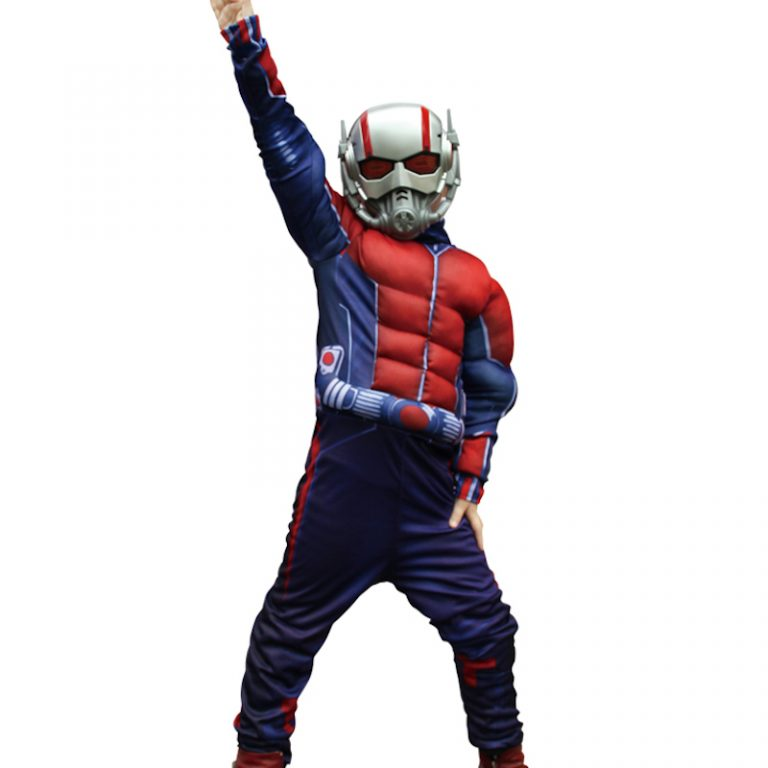 Ant Man Muscle Jumpsuits and Mask 13