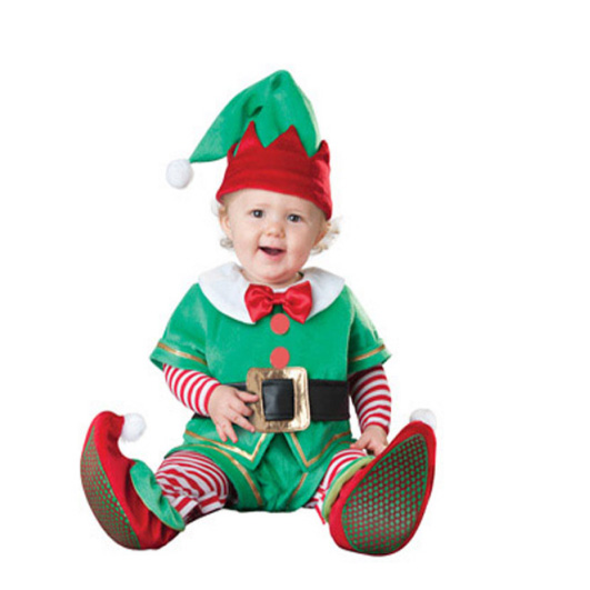 Baby Santa Elf Costume for Christmas 13
