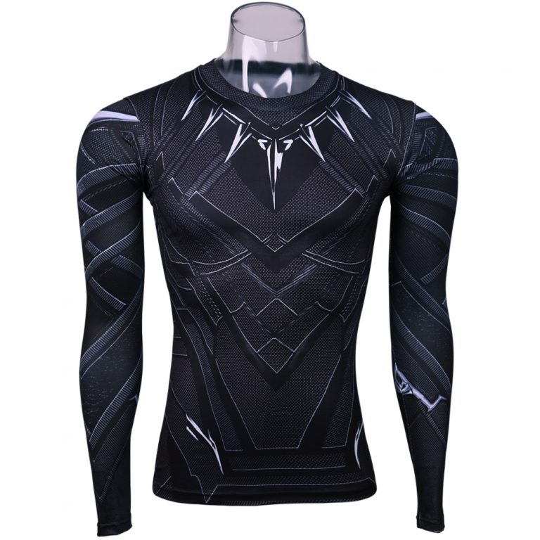 Black Panther 3D Printed T-shirts for Man 1