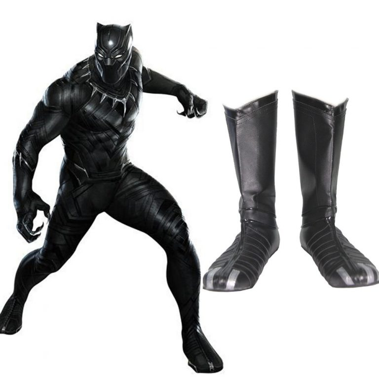Black Panther Boots for Men 1