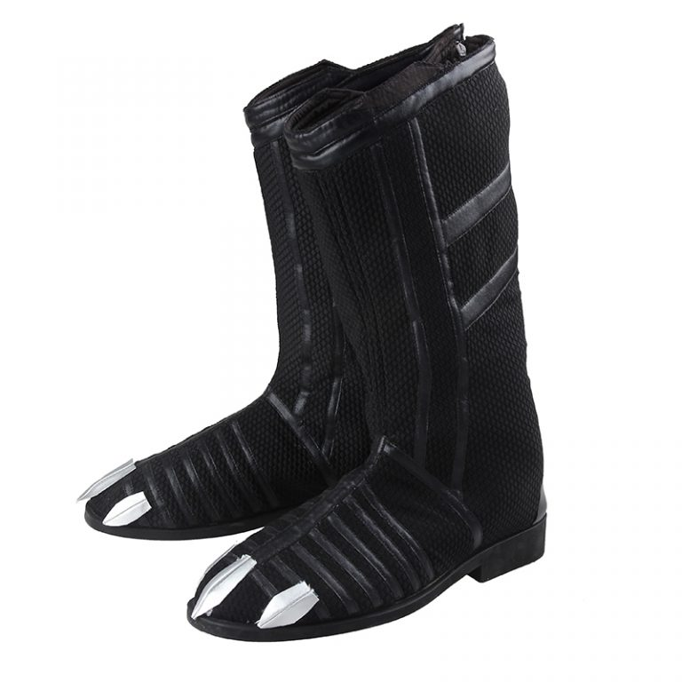 Black Panther Cosplay Boots for Men 2