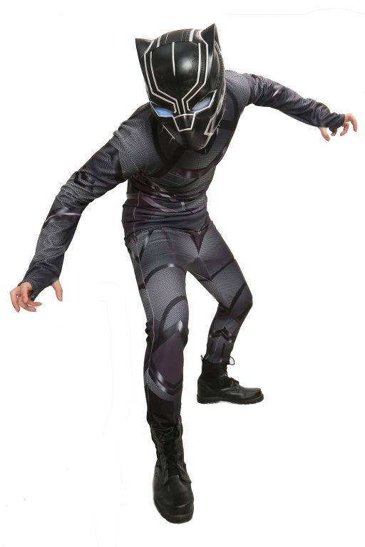 Black Panther Costume Jumpsuit for Adult 2