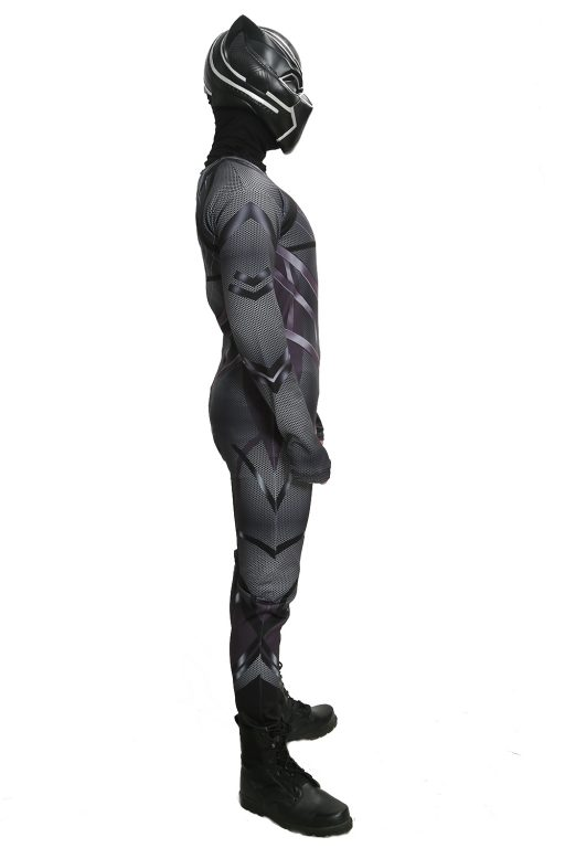 Black Panther Costume Jumpsuit for Adult 5