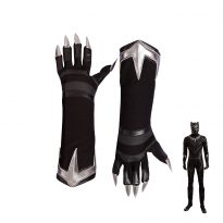 Black Panther Cosplay Boots for Men 5
