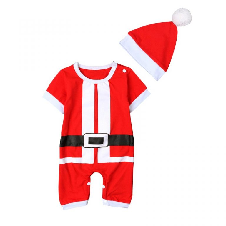 2019 Christmas costume for Baby Boys and Girls 12