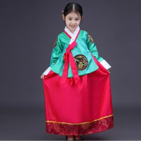 Japan Princess Korean Hanbok Costume 14