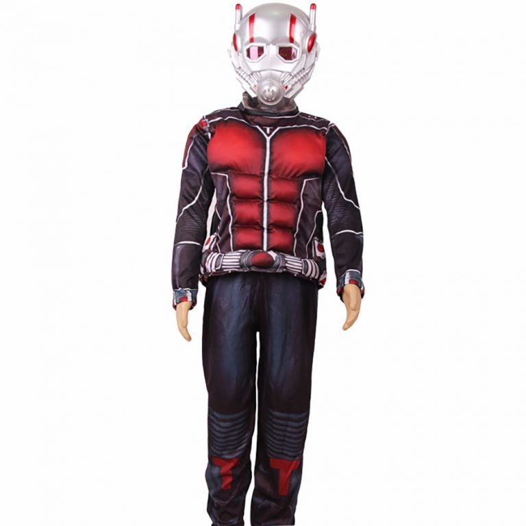A complete set of Ant-man Costume with its Mask 1
