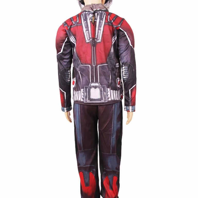 A complete set of Ant-man Costume with its Mask 2