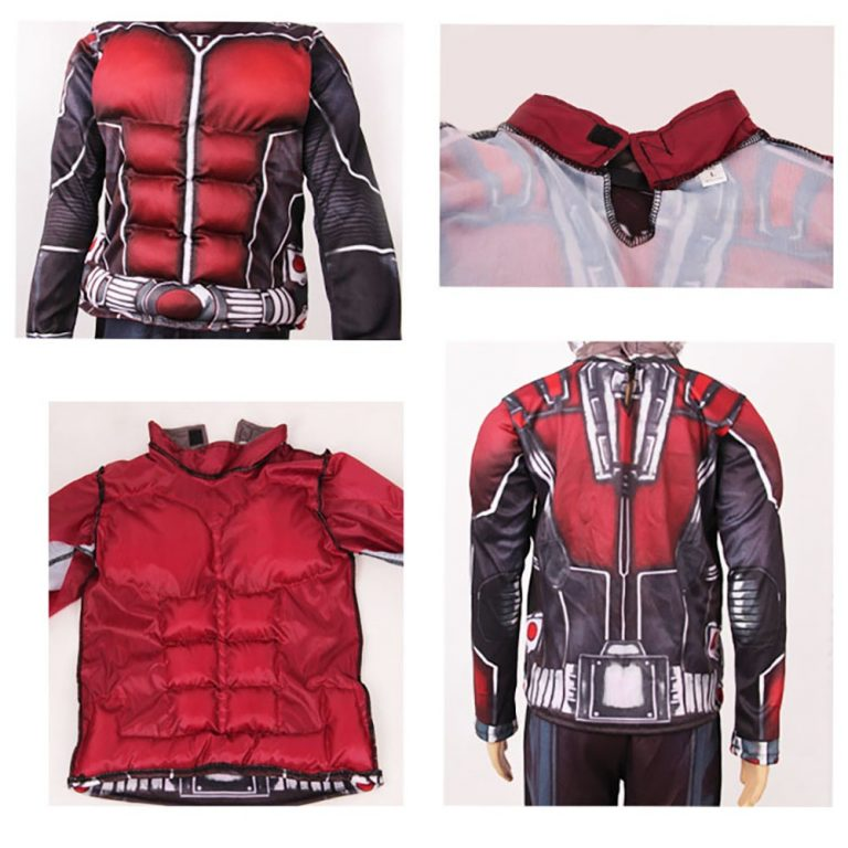 A complete set of Ant-man Costume with its Mask 3