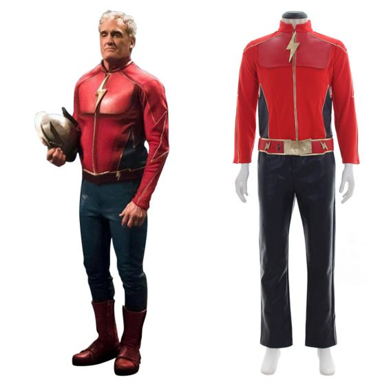 Clearance Superhero The Flash  sc 1 st  Costumesjoy & Buy The Flash Costume: Full Set Cosplay at 40% Discount