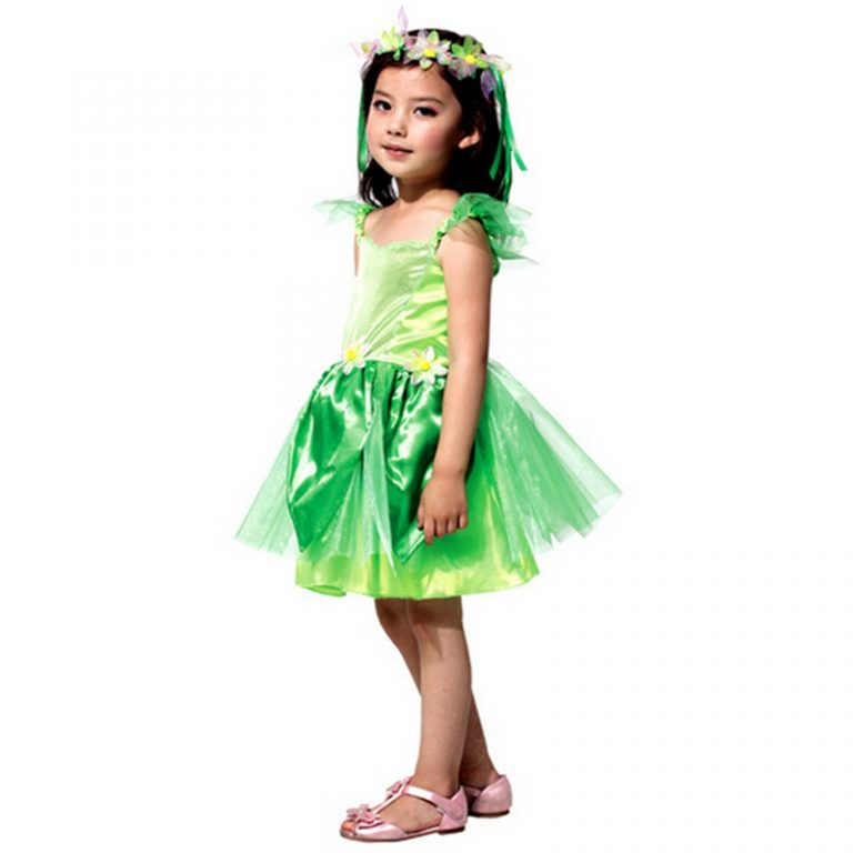Poison ivy Elf Costumes for Kid 2