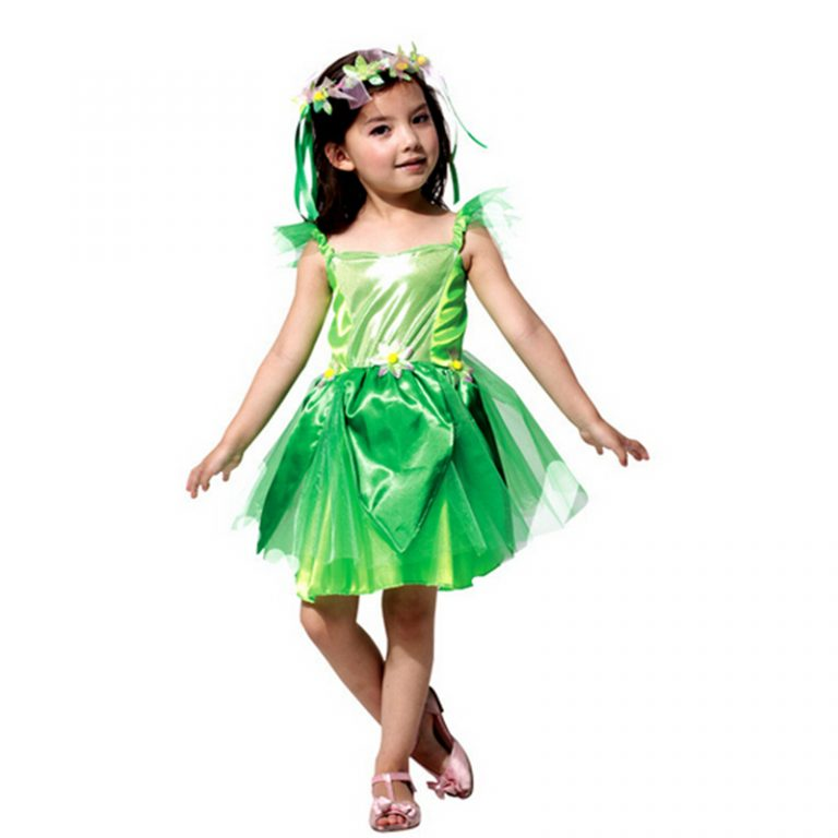 Poison ivy Elf Costumes for Kid 3