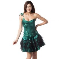 Poison Ivy Elf Costumes with Wings for Women 7