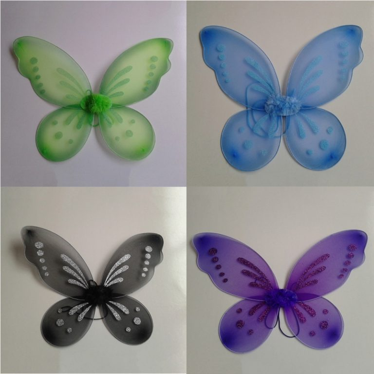 Glitter Butterfly Wings costume for Kids 6