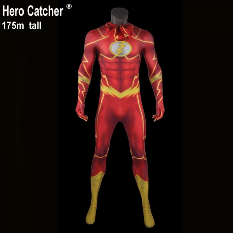 Flash Costume Suit for Adult 13