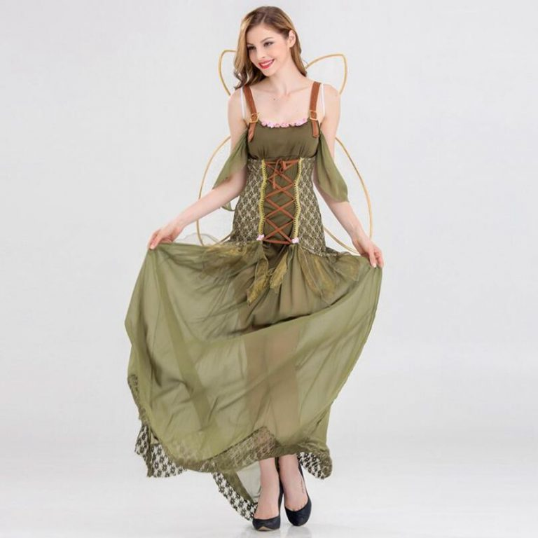 Butterfly Flower Fairy Cosplay Costumes for Girls 3