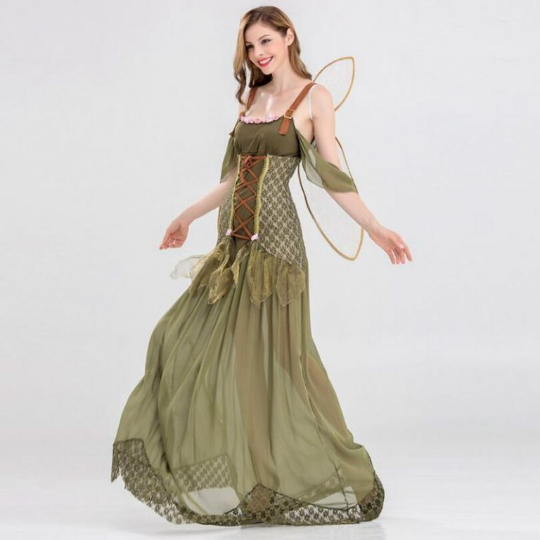 Butterfly Flower Fairy Cosplay Costumes for Girls 4