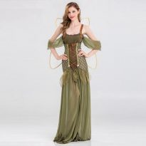 Butterfly Novelty Print Chiffon  costume With Wing Cape Scarf for Woman 20