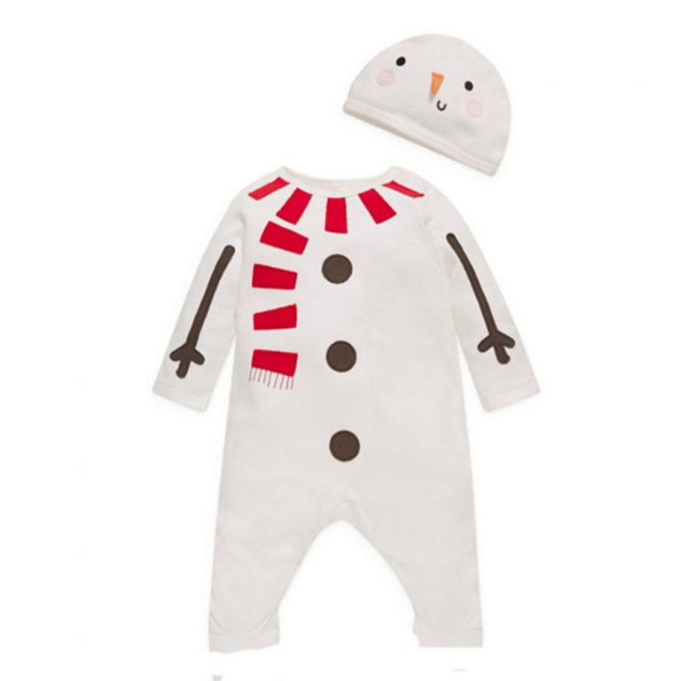 Baby Clothes Reindeer Costume Outfits With Hat 4