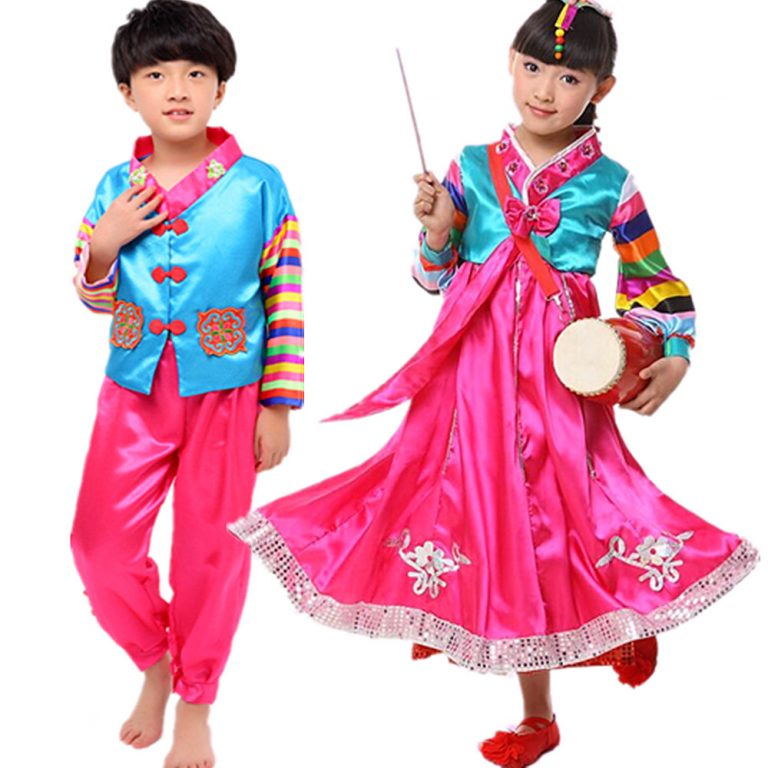 Korea Traditional Hanbok Costume 16
