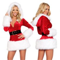 Christmas Costume with Hat for Women 13