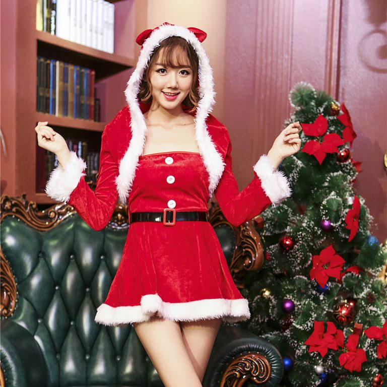 Christmas Long Sleeve Costume for Women 22