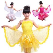 Glitter Butterfly Wings costume for Kids 12