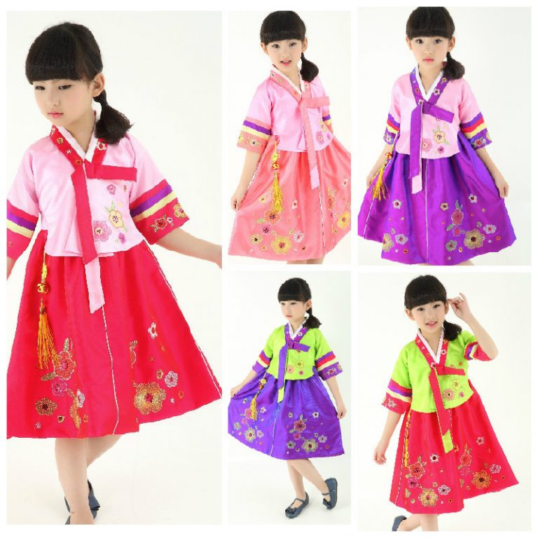 Traditional Korean Costumes for kids 2