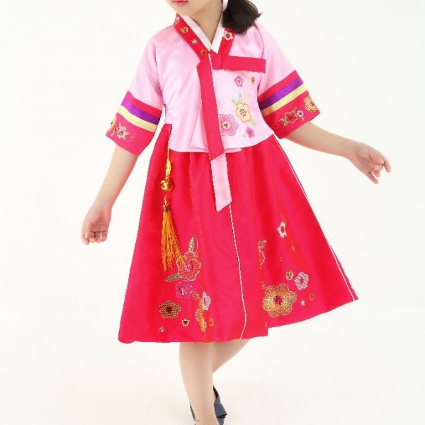 Traditional Korean Costumes for kids 8