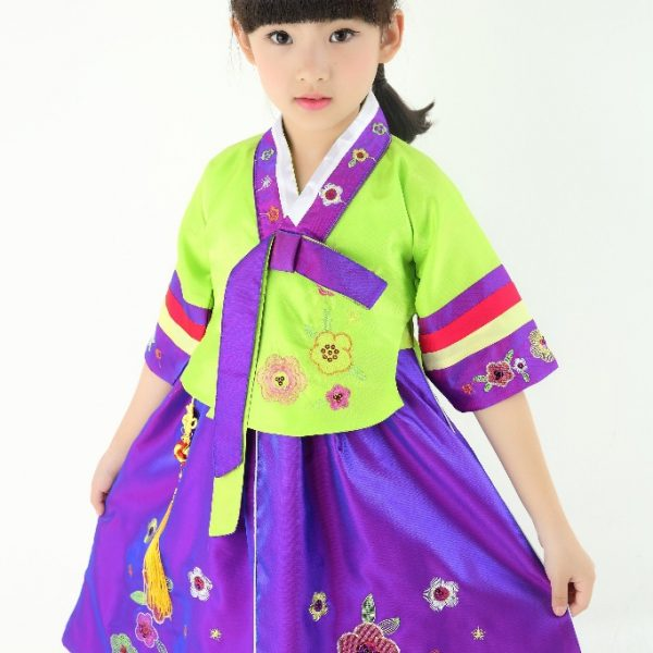 Traditional Korean Costumes for kids 9